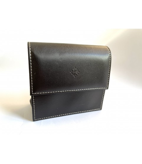 New Patek Philippe leather travel watch pouch case