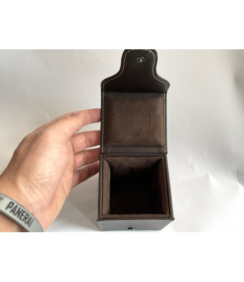 Audemars Piguet leather travel watch case