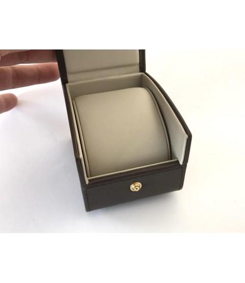 Baume Mercier leather travel watch case