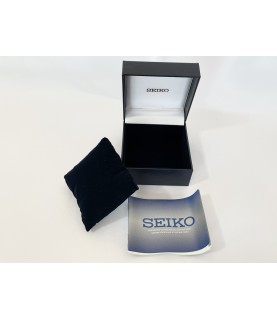 Seiko watch box with guarantee instructions