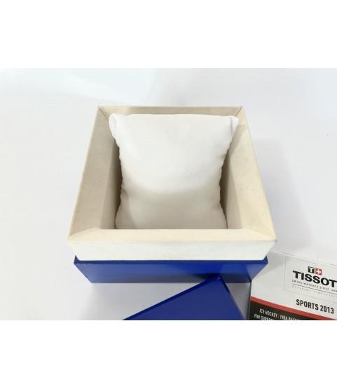 Tissot blue watch box 2013