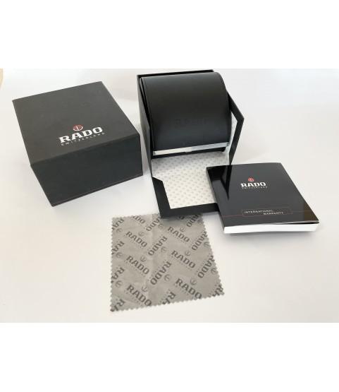 Rado watch box with booklet