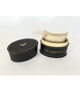 Dubey & Schaldenbrand leather travel watch box