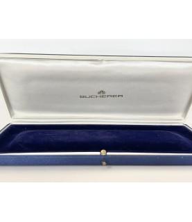 Bucherer blue men's watch box 1960s