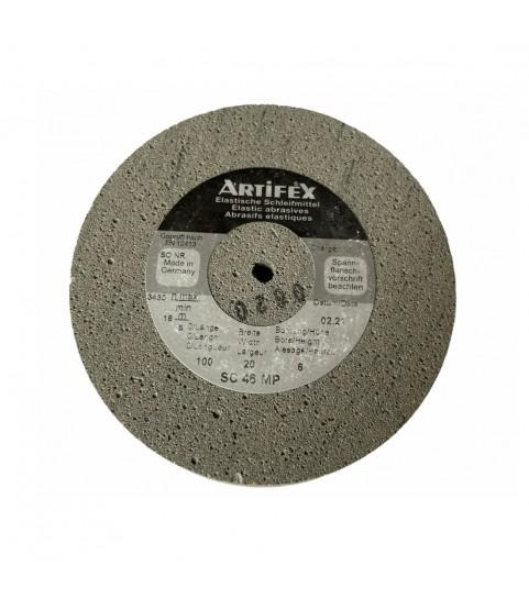 Artifex elastic abrasive grinding wheel silicon carbide for Rolex SC 46 MP