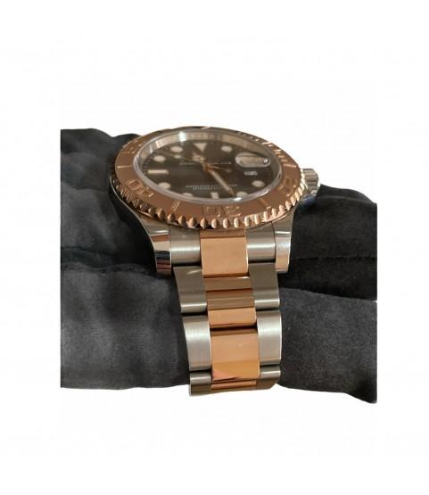 Rolex Yacht-Master 116621 18k Everose gold/steel chocolate men's watch 40mm
