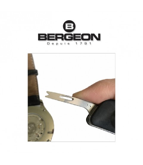 Bergeon 8403 watchmaker knife with spring bar tool for straps