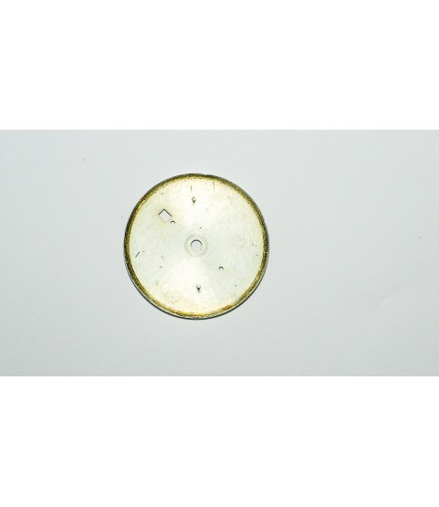 Landeron cal 187 Silver watch dial part