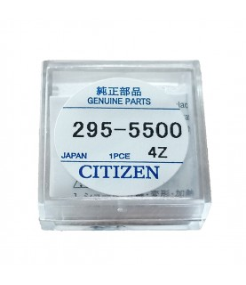 Citizen 295-55 (295-5500) capacitor battery for Eco-Drive watches 295-37