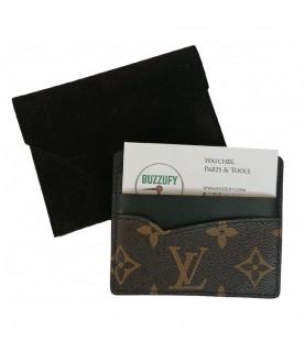 Louis Vuitton monogram leather watch card holder