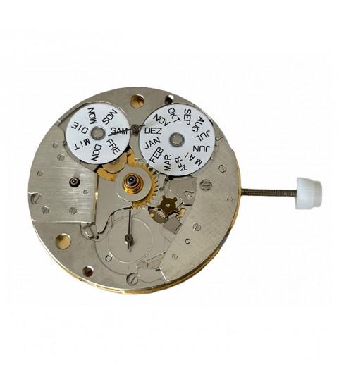 New ETA 7751 moon phase chronograph movement complete German language