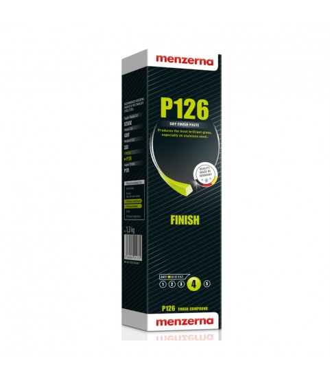 Menzerna P126 dry finish paste for stainless steel 1,3 kg