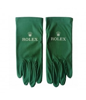 New green Rolex gloves for presentation size M