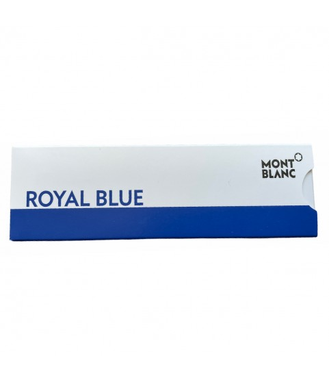 Montblanc rollerball refills pens size M blue color 2 in pack