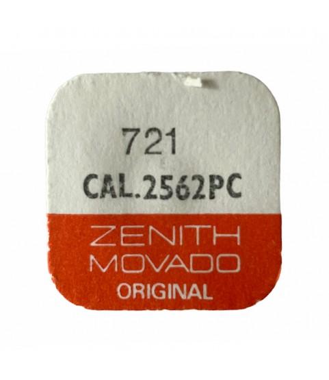 Zenith/Movado 2562PC balance complete part 721