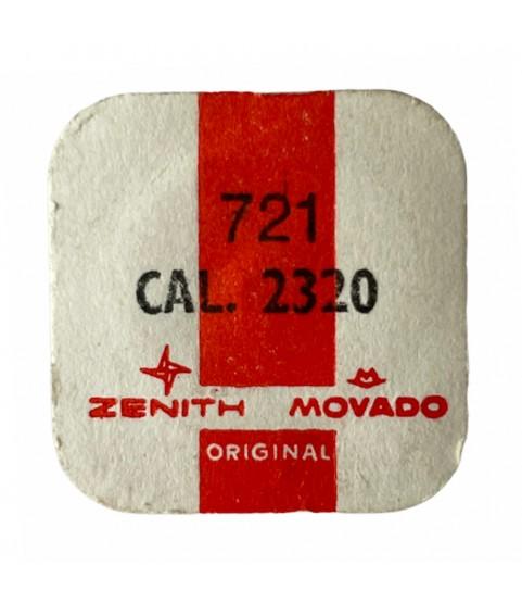 Zenith/Movado 2320 balance complete part 721