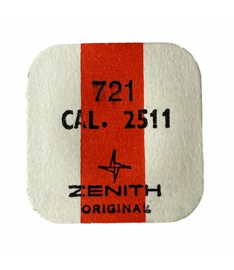 Zenith/Movado 2511 balance complete part 721