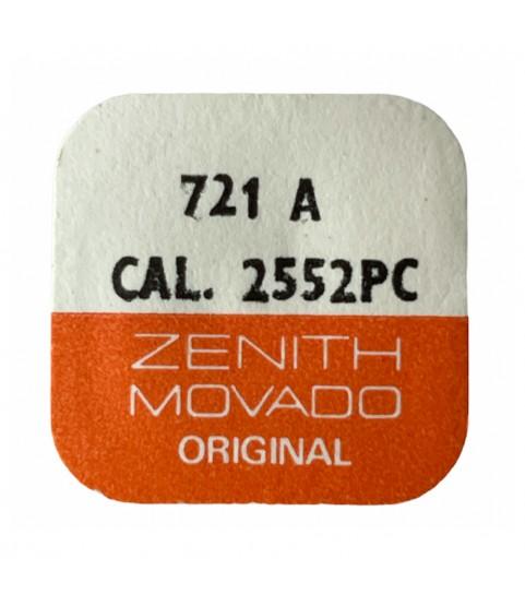 Zenith/Movado 2552PC balance complete part 721