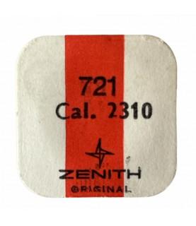 Zenith/Movado 2310 balance complete part 721