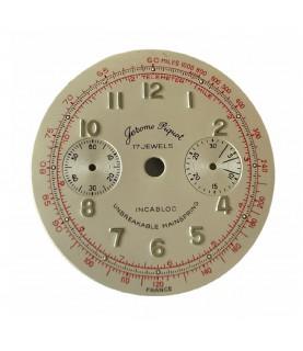 Jerome Piquot dial for vintage chronograph watches Landeron 149