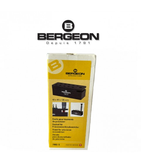Bergeon 7902-S stand alone base for precision screwdriver
