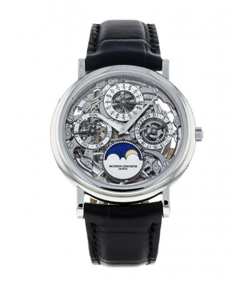 Vacheron Constatin 43032 Perpetual calendar skeleton watch dial