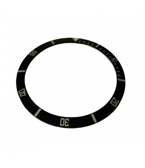 Rolex Submariner black bezel insert 5513 and 1680