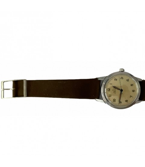 Rare vintage Zenith military automatic bumper watch 133.8