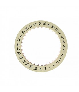 New Omega Arabic champagne date ring indicator 750-1580-B caliber 750