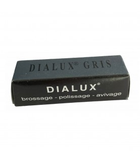 DIALUX grey compound polishing paste for stainless steel