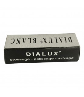 DIALUX white compound polishing paste for shining and fine buffing of all metals