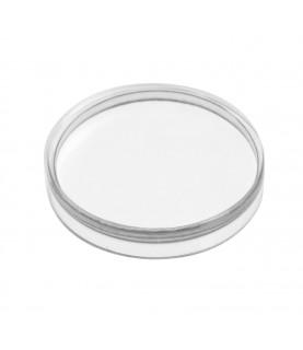 New Junghans 27/3500 plexiglass watch crystal 36.5mm