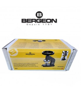 Bergeon 8250 watch case closer and crystal press fitting