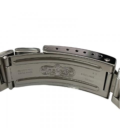 Rolex Datejust 16220 black dial automatic men's watch