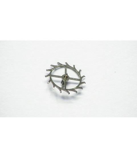 Landeron cal 187 escape wheel and pinion with straight pivots part 705