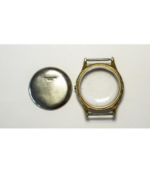 Valjoux 77 gold plated case part