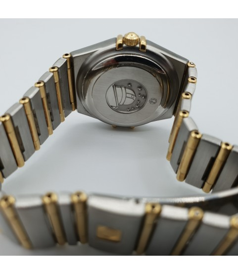 Omega Constellation Automatic Ladies Watch Gold and Steel 1392.30.00