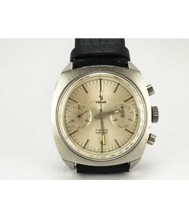 Vintage Yema Camaro Chronograph Men's Watch Valjoux 7733 1970's