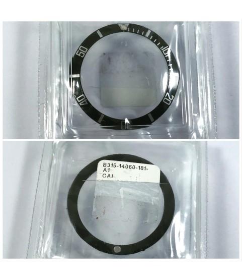 New Rolex Submariner 14060 bezel insert lume part B315-14060-181-A1