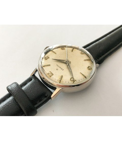 Vintage Zenith men's watch manual-winding 106-50-6 31mm