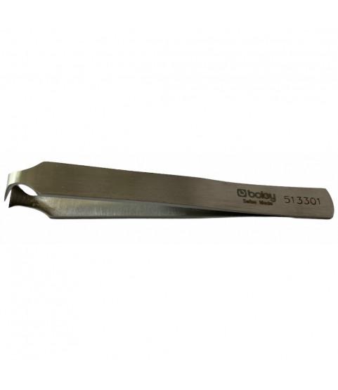 Boley nickel plated steel cutting tweezers 110 mm