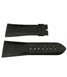 Cartier black leather strap KD74BK97 29.0mm