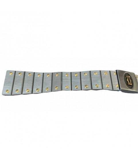 Cartier Santos watch bracelet steel and gold 18mm