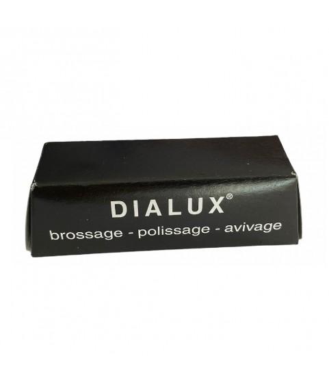 DIALUX black compound polishing paste for silver super finish