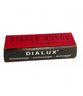 DIALUX red compound polishing paste for gold and silver