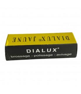 DIALUX yellow compound polishing paste for copper, bronze, zamak, aluminium alloys