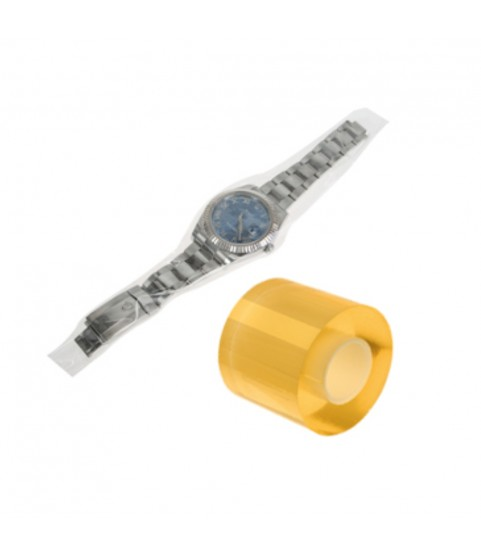 Electrostatic protective foil on spools for watches and bracelets 60mm