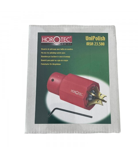 Horotec MSA-23.500 polishing vise for watch cases