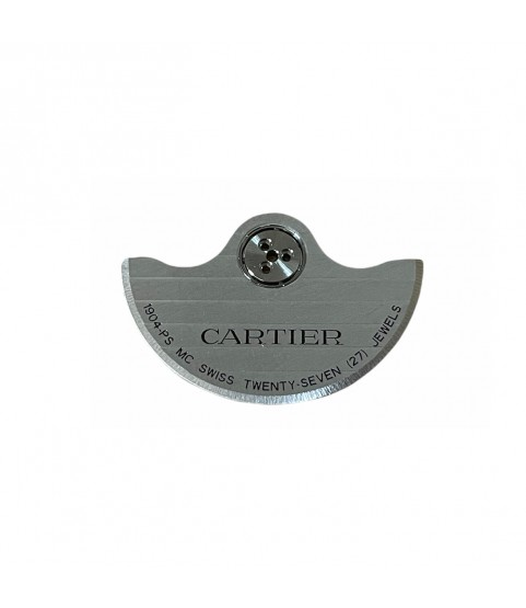 New Cartier oscillating weight automatic rotor part for caliber 1904-PS