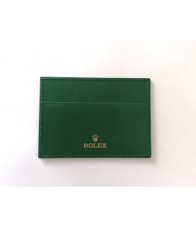 New Rolex card leather warranty holder